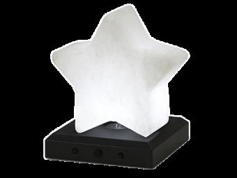 Salzkristallstern